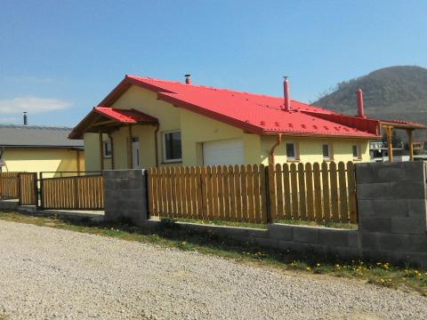 Novostavba  rodinného domu v Kanaši